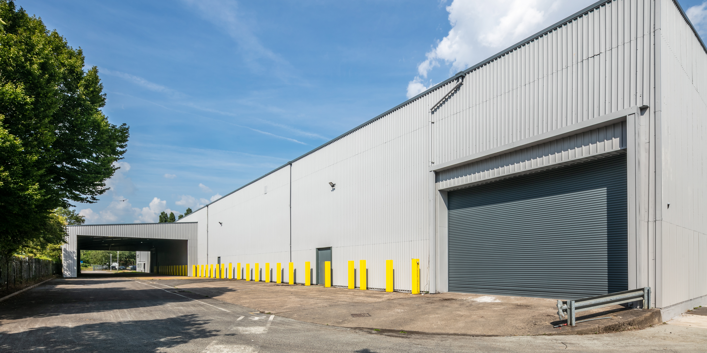 External shot of Unit 4 at Severnbridge Industrial Estate