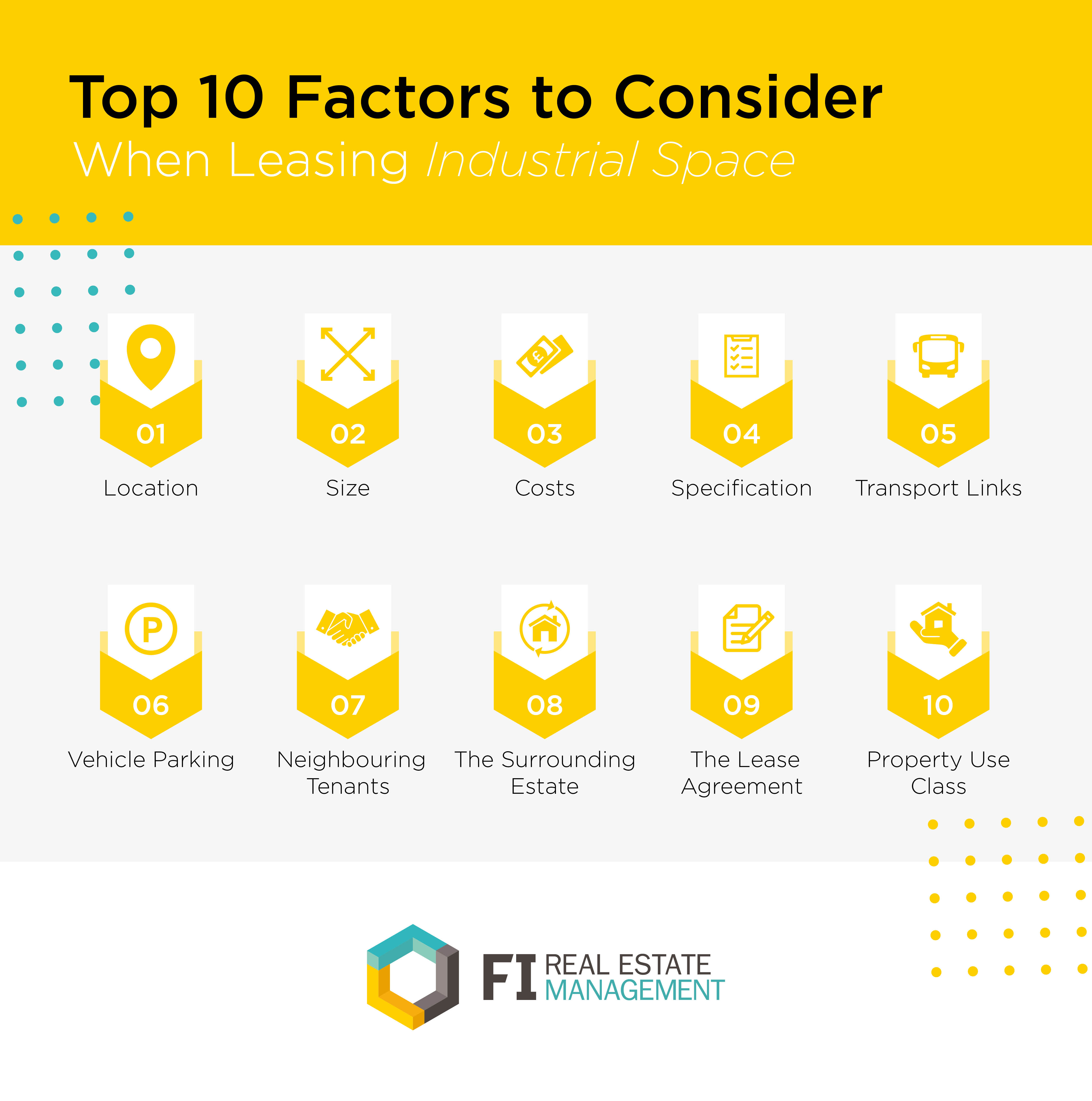 Top 10 Factors to Consider When Leasing Industrial Space